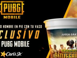 PUBG MOBILE Carls Jr Mexico