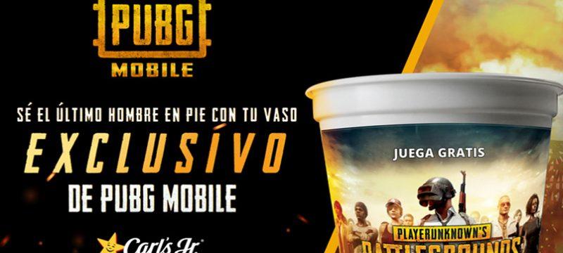 PUBG MOBILE Carls Jr Mexico