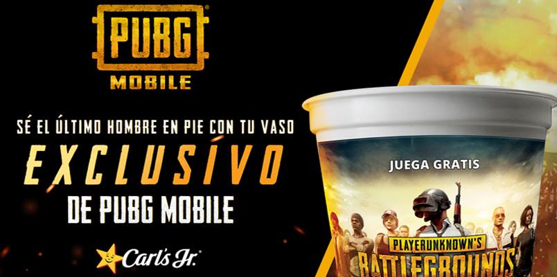 El juego PUBG MOBILE hace equipo con Carl's Jr en México