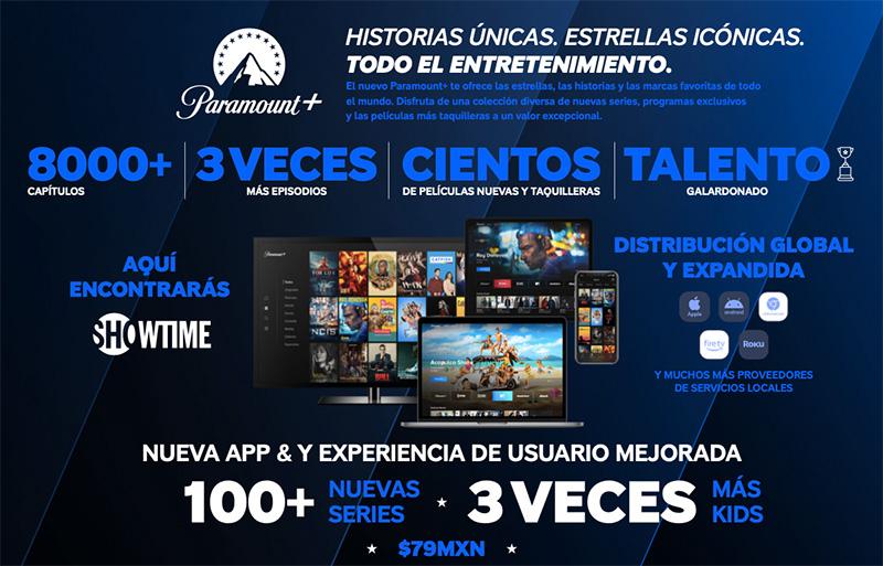 Paramount Plus Mexico 4 marzo 2021