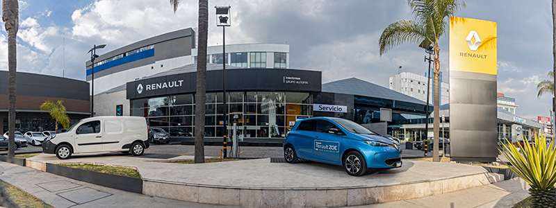 Renault Interlomas Exterior autos