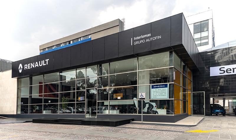 La nueva agencia de Renault Interlomas llega con espíritu deportivo