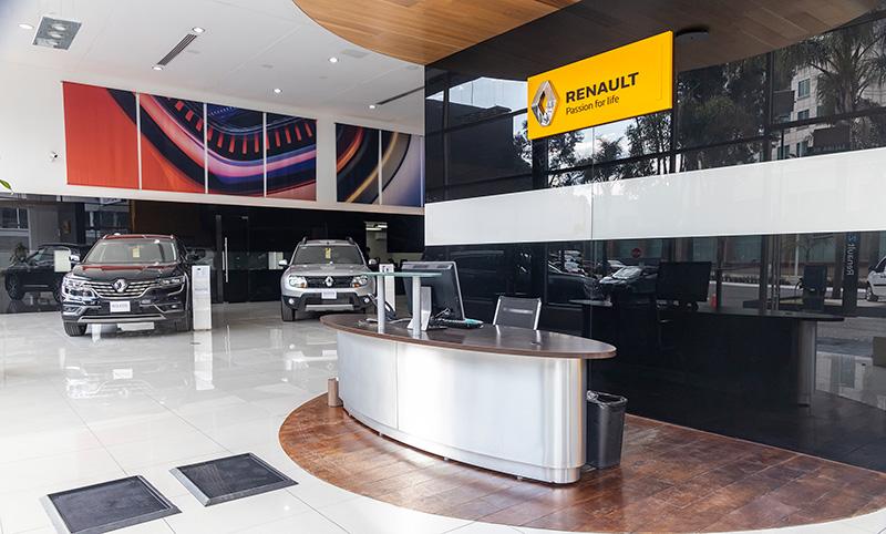 Renault Interlomas recepcion
