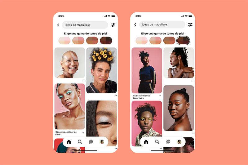 Skin tone Pinterest