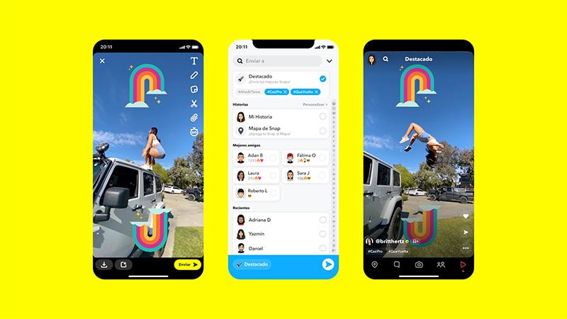 Spotlight ya está disponible para los Snapchatters de México