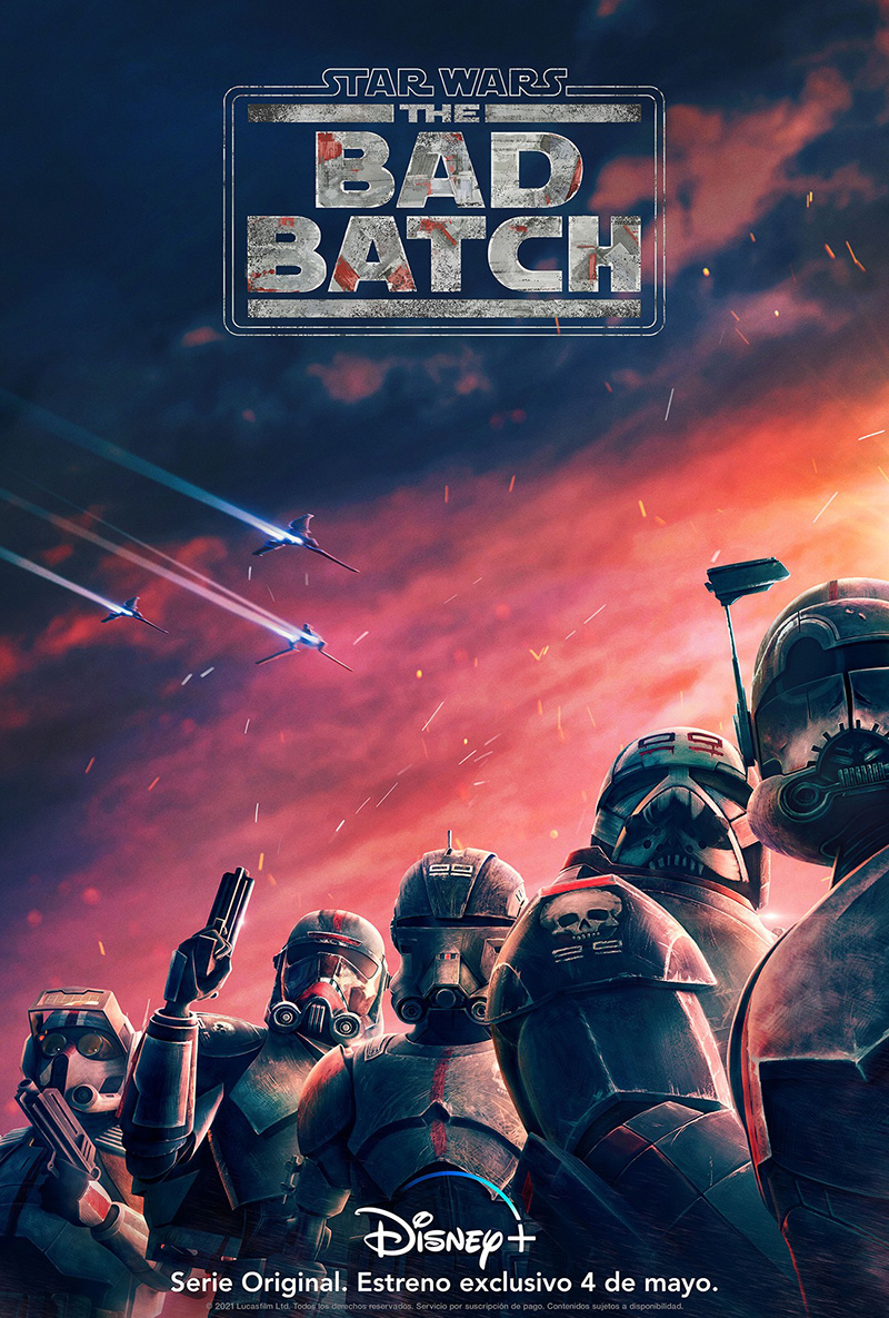 Star Wars The Bad Batch poster 1