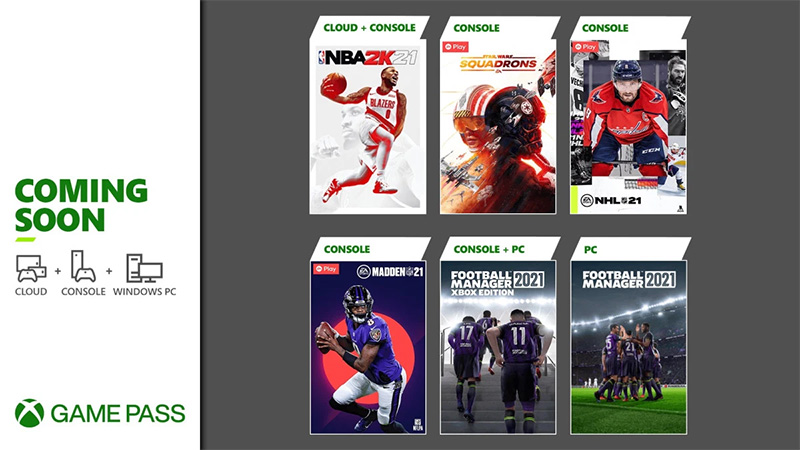 Xbox Game Pass juegos marzo 2021