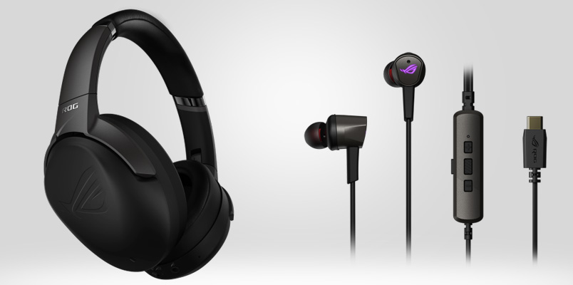 Los nuevos audífonos gaming de ASUS Republic of Gamers