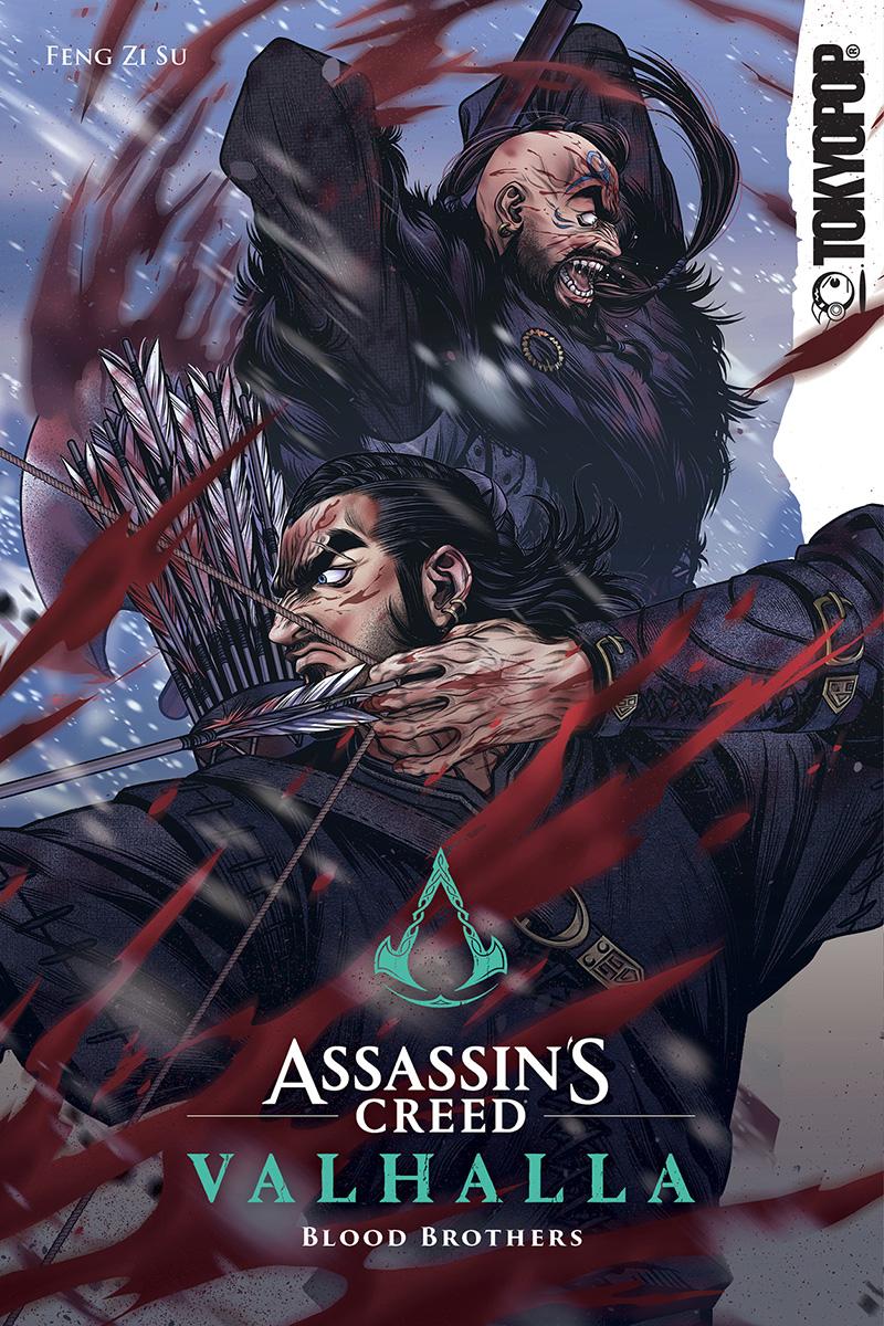 Assassins-Creed-VALHALLA-HERMANOS-DE-SANGRE-MANHUA