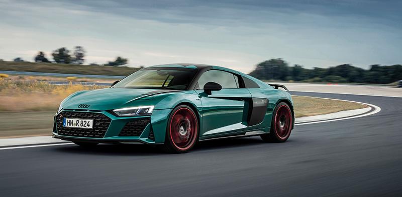 Audi R8 Green Hell Edition costado