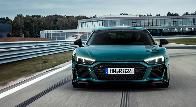Audi R8 Green Hell Edition frontal