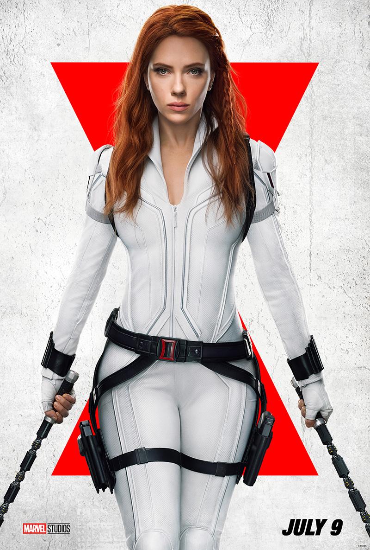 Black Widow arte poster