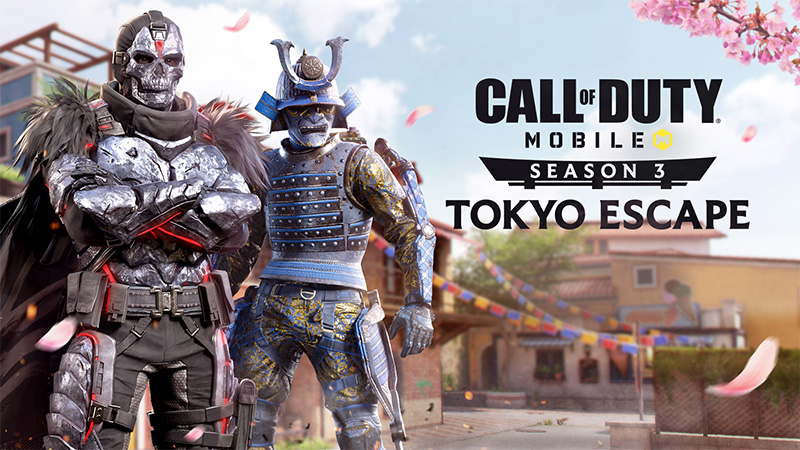 Call of Duty Mobile Tokyo Escape Temporada 3 iOS