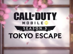 Call of Duty Mobile Tokyo Escape Temporada 3 logo