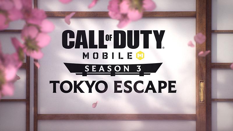 El contenido de Call of Duty: Mobile Tokyo Escape Temporada 3