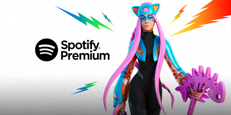 Club de Fortnite Spotify Premium