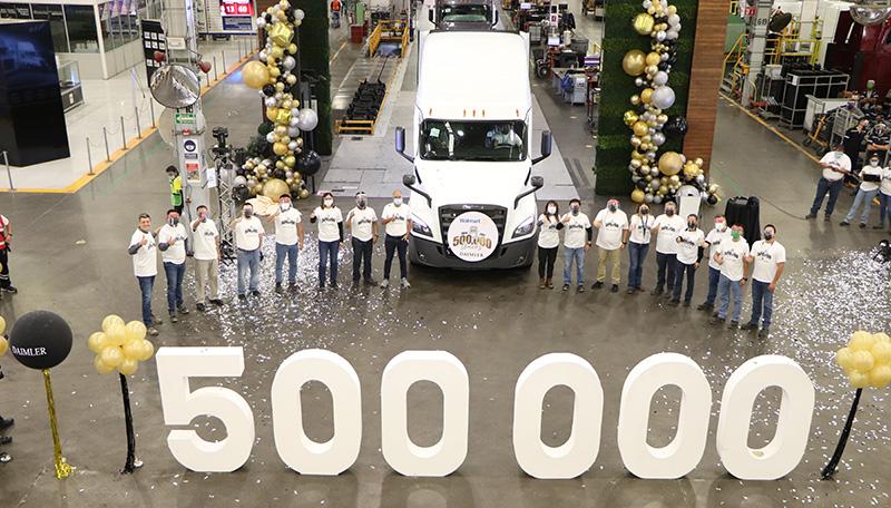 Daimler Trucks Mexico 500000 unidades