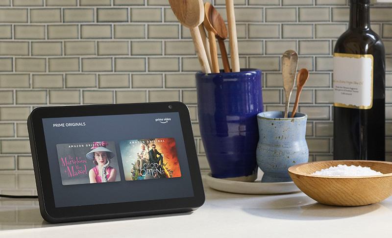 Echo-Show-8,-cocina Dia del nino