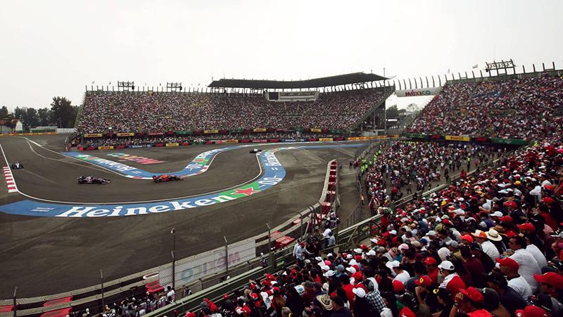 GP de Mexico calendario 2021