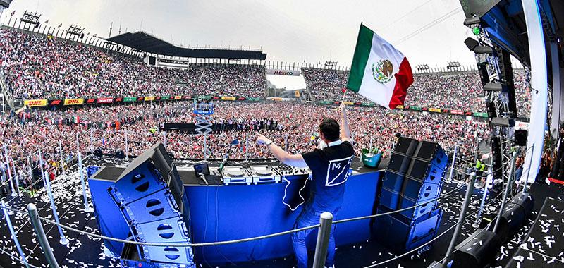 Gran Premio de México 2021 sigue en el calendario de la Formula 1