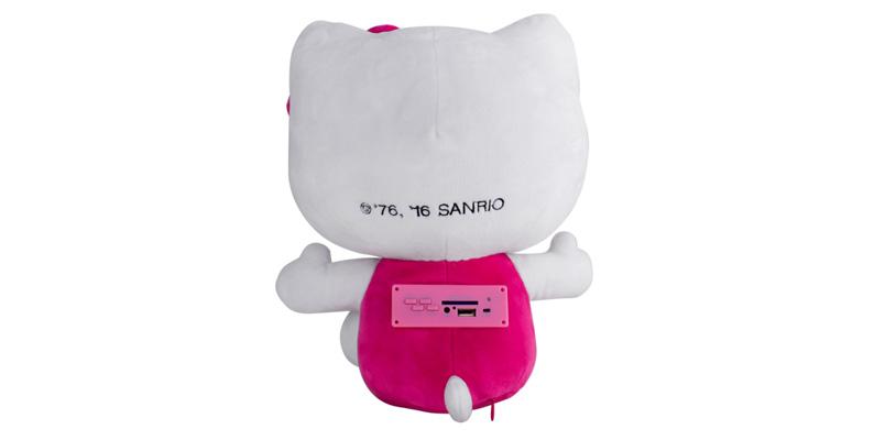 Hello Kitty Abrazo de Flor de Ginga atras