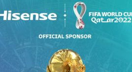 Hisense patrocinador de la Copa Mundial de la FIFA Qatar 2022