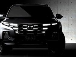 Hyundai Santa Cruz 2022 boceto