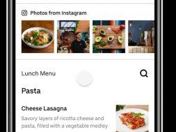 Instagram Uber Eats restaurantes