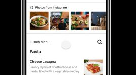 Restaurantes asociados a Uber Eats ya pueden conectar su Instagram