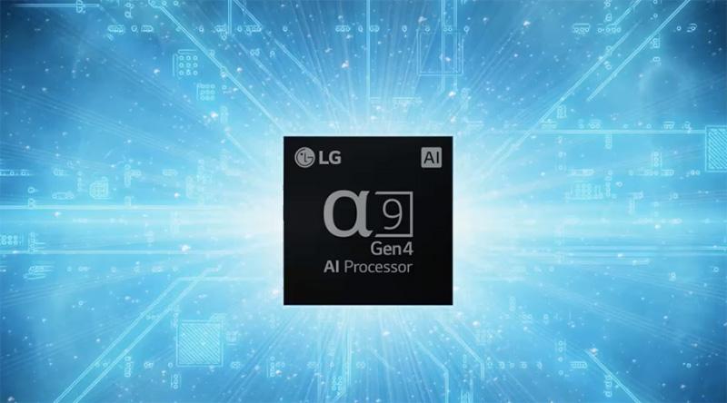 LG OLED procesador Alpha 9 2021