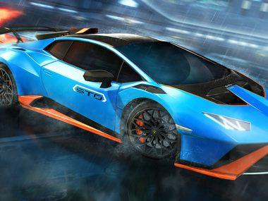 Lamborghini Huracan STO x Rocket League