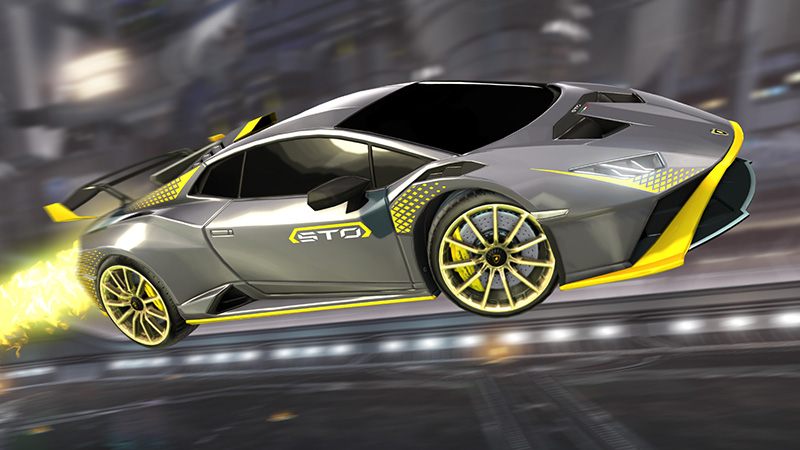Lamborghini Huracan STO x Rocket League gris