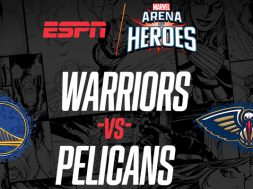 Marvel Arena of Heroes Warriors vs Pelicans