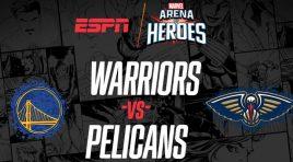Los Warriors y Pelicans serán parte del Marvel's Arena of Heroes