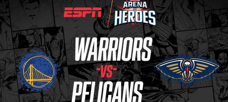 Marvel Arena of Heroes Warriors vs Pelicans