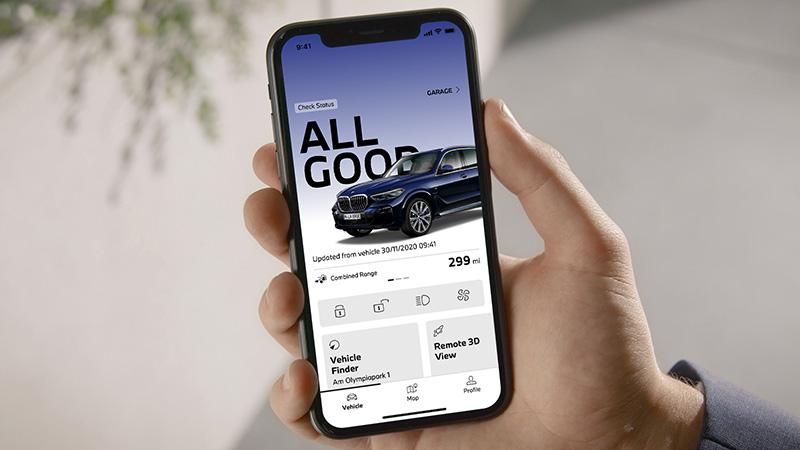 La nueva aplicación My BMW hace más inteligente tu vehículo BMW