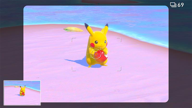 New_Pokemon_Snap Pikachu