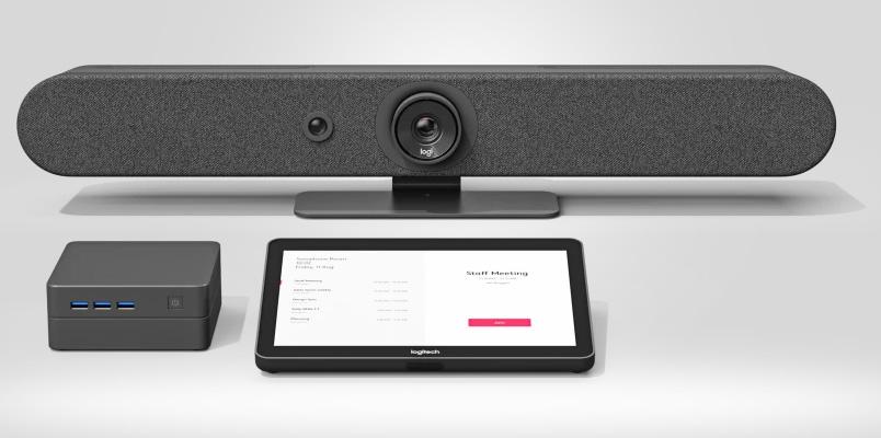 Las nuevas barras de video de Logitech para las oficinas híbridas