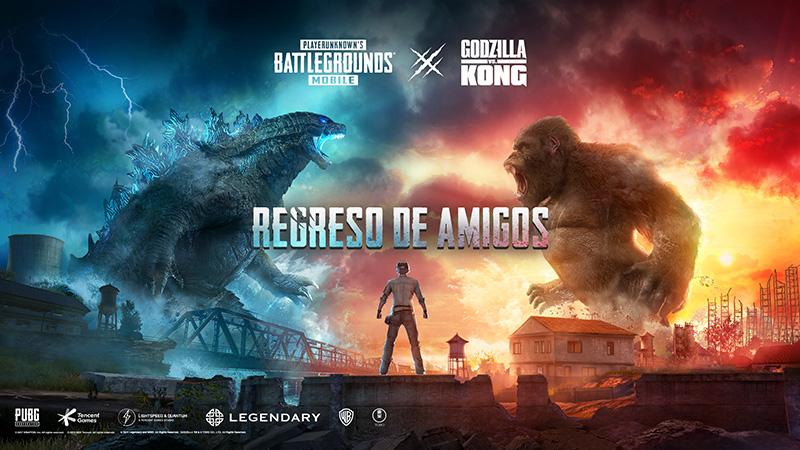 PUBG MOBILE x Godzilla vs. Kong un evento por tiempo limitado