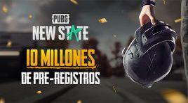 PUBG: NEW STATE es un éxito y logra 10 millones de pre-registros