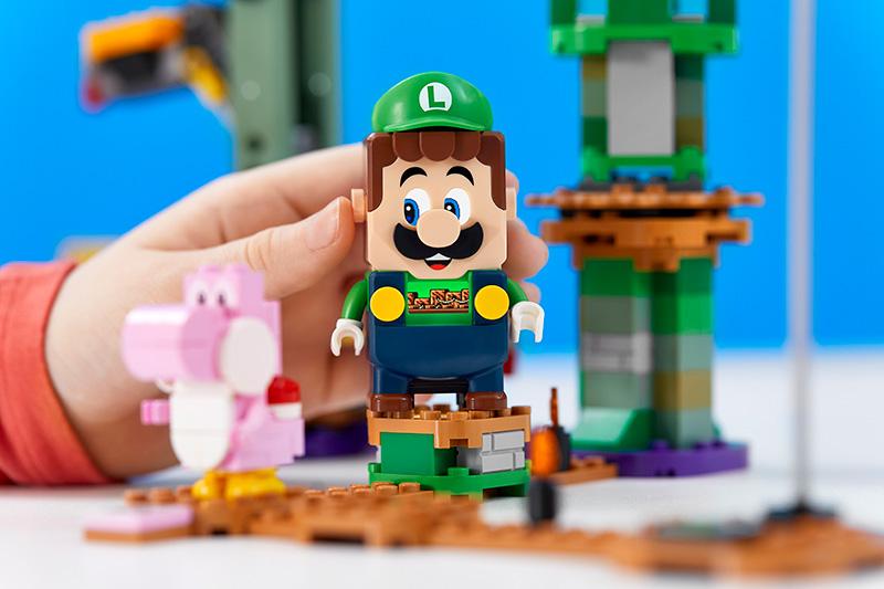 Luigi se une a las aventuras de LEGO Super Mario con este nuevo set