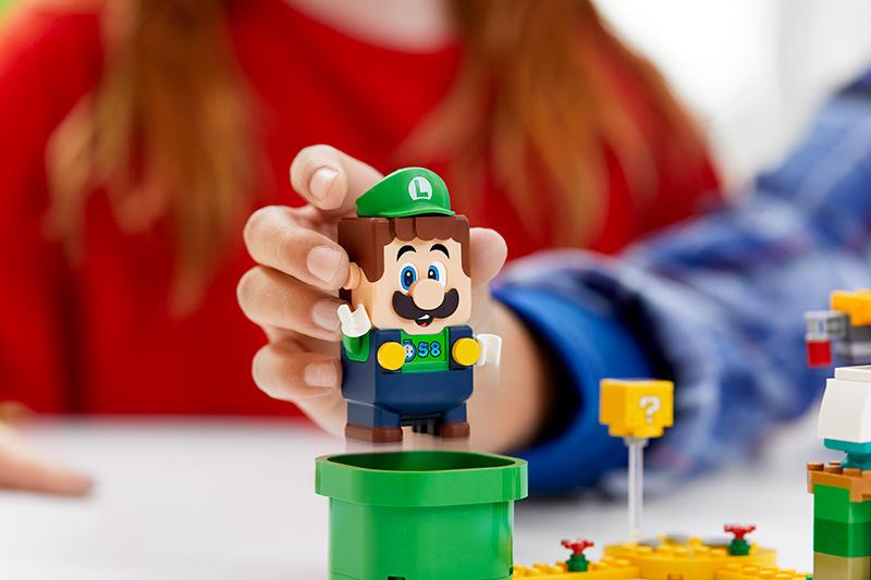 Pack Inicial LEGO Super Mario Aventuras con Luigi sonidos