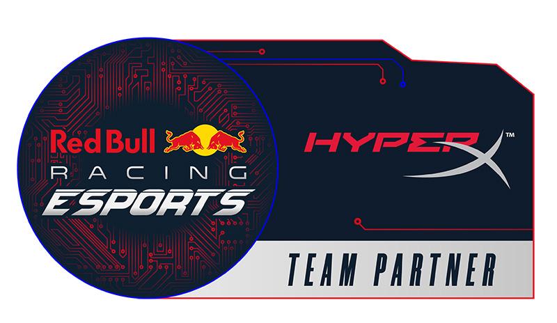 Red Bull Racing eSports HyperX logo
