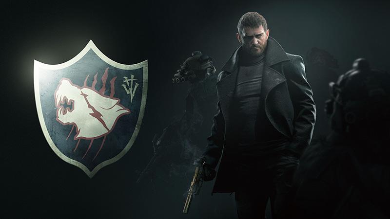 Resident Evil Village Chris Redfield Wolf