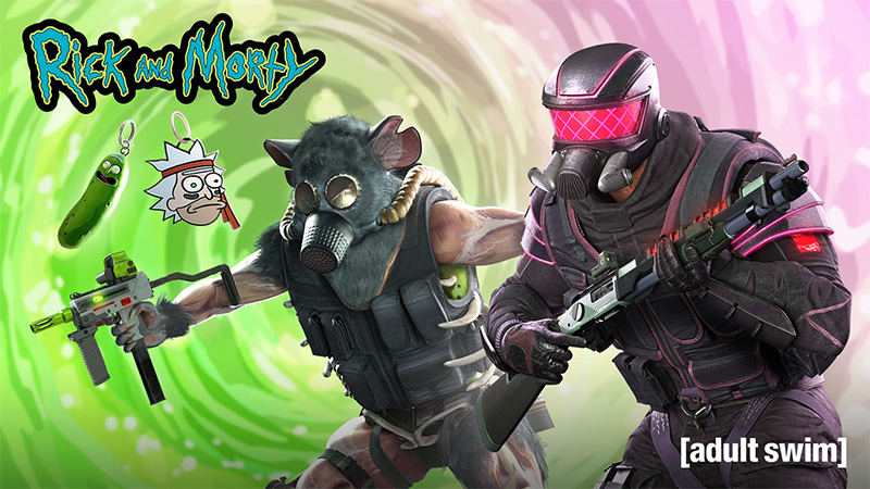 Rick and Morty llegan a Tom Clancy's Rainbow Six Siege