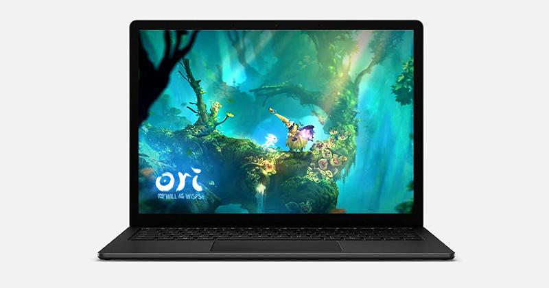 Surface Laptop 4 juegos