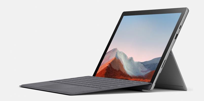 Surface Pro 7+ la mejor herramienta para empresas ya en México