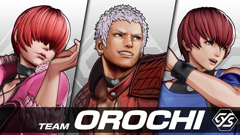 Conoce al Team Orochi que estará en The King of Fighters XV