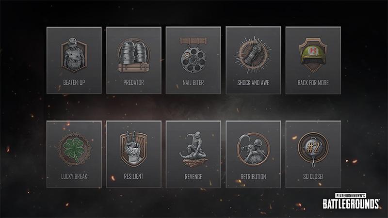 Temporada 11 PUBG Medallas