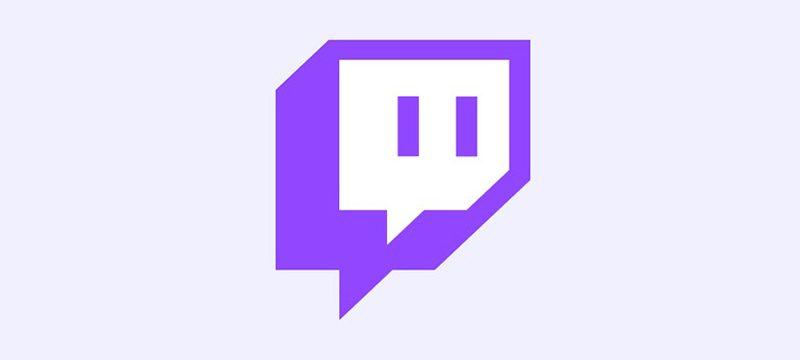 Twitch logo morado 2021